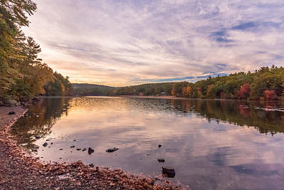 Photograph - Fall At The Pond by Brian MacLean