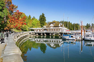 Photograph - Fall At The Rowing Club In Vancouver by Ross G Strachan