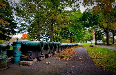 Fall At West Point Art Print by David Hahn
