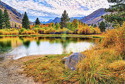 Photograph - Fall Beauty At Intake Lake by Lynn Bauer
