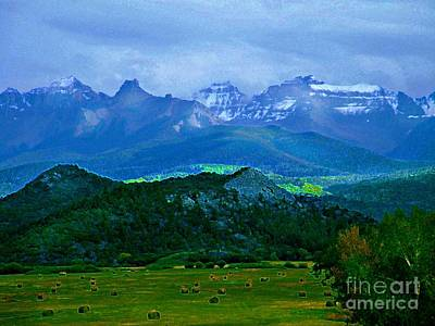 Digital Art - Fall Before The San Juans by Annie Gibbons