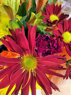 Photograph - Fall Bouquet by Janice Drew