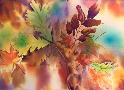 Painting - Fall Bouquet by Tara Moorman
