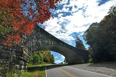 Photograph - Fall Bridge by Doug Ash