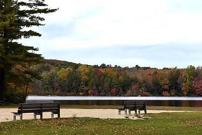 Photograph - Fall By Burr Pond 1 by Nina Kindred