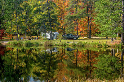 Photograph - Fall Camping by Gary McCormick