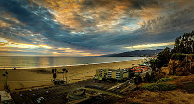 Photograph - Fall Clouds Over The Bay by Gene Parks