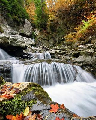 Bash Bish Falls Photograph - Fall Color Bash by Neil Shapiro