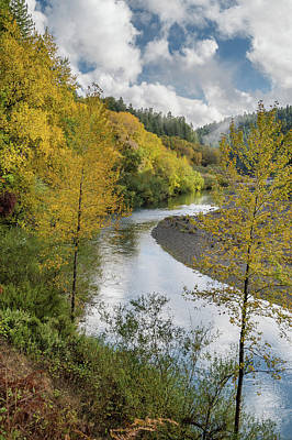 Photograph - Fall Color Explosion Along The Eel by Greg Nyquist