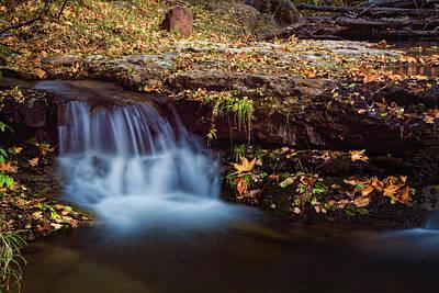 Photograph - Fall Color Falls  by Saija Lehtonen
