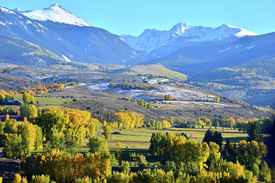 Photograph - Fall Color In Eagle Colorado by Ray Mathis