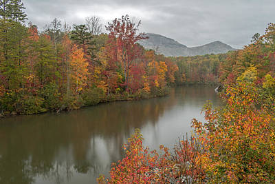 Photograph - Fall Color Leads To Table Rock Mountain by Willie Harper