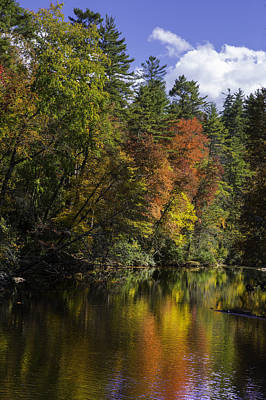 Photograph - Fall Color Reflections by Ken Barrett