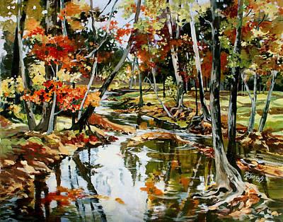 Fall Colors 3 Art Print