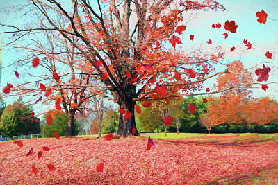 Painting - Fall Colors 479 - Painting by Ericamaxine Price