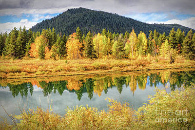 Photograph - Fall Colors And Reflections by Lynn Sprowl