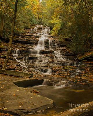 Photograph - Fall Colors At Minnehaha Falls by Barbara Bowen