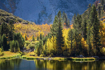 Photograph - Fall Colors At North Lake by Alexander Kunz