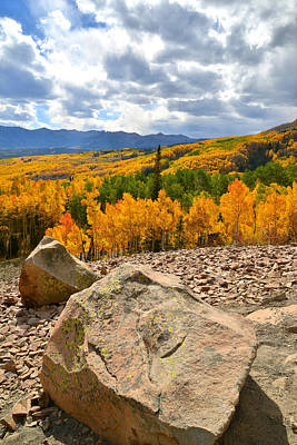 Photograph - Fall Colors At Ohio Pass by Ray Mathis