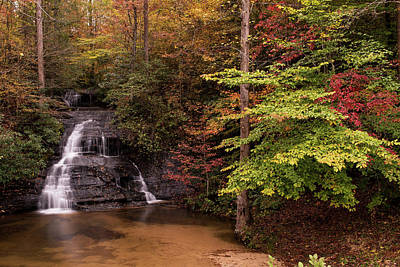 Photograph - Fall Colors At Wildcat Falls by Willie Harper