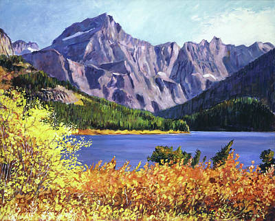 Painting - Fall Colors by David Lloyd Glover