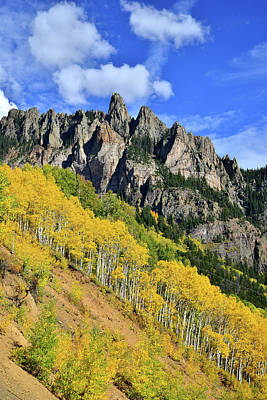 Photograph - Fall Colors In Colorado by Ray Mathis