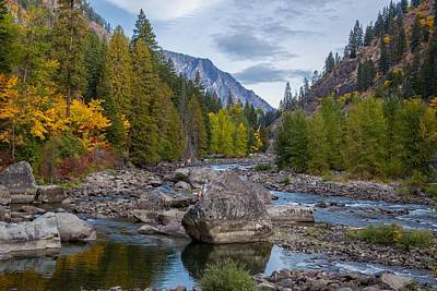 Photograph - Fall Colors In The Canyon by Lynn Hopwood