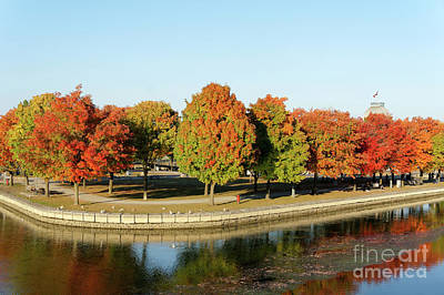 Photograph - Fall Colors In The Old Port Of Montreal by John  Mitchell