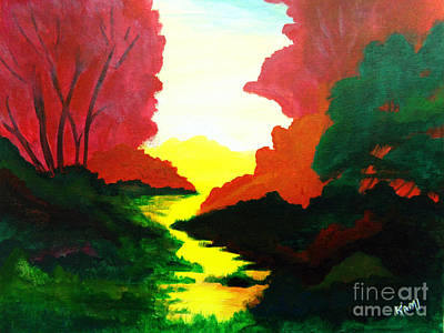 Painting - Fall Colors by Kami Catherman