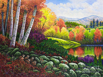 Painting - Fall Colors by Michael Frank