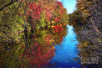 Fall Colors Of Princeton Art Print by George Oze