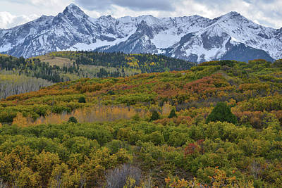 Photograph - Fall Colors Of The Sneffels Range by Ray Mathis