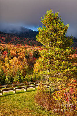 Photograph - Fall Colors On Grandfather Mountain by Dan Carmichael