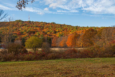 Photograph - Fall Colors On Great Blue Hill by Brian MacLean