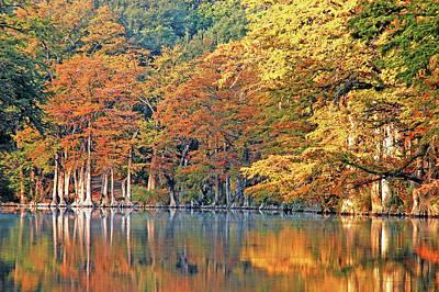 Photograph - Fall Colors Reflected by Robert Anschutz