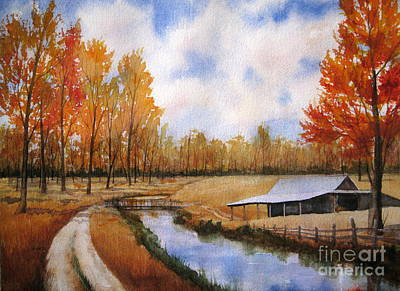 Painting - Fall Colors by Shirley Braithwaite Hunt