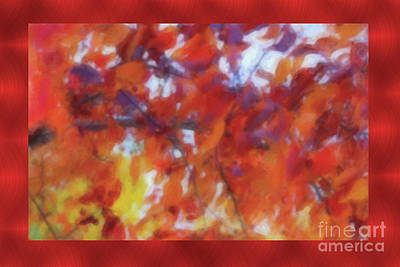 Painting - Fall Colors Watercolor by Donna Munro