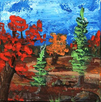 Painting - Fall Colours #1 by Anastasiya Malakhova
