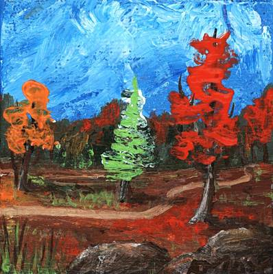 Painting - Fall Colours #2 by Anastasiya Malakhova