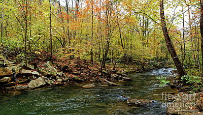 Photograph - Fall Comes To Clifty Creek by Paul Mashburn