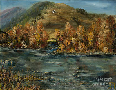 Fall Comes To The M Art Print