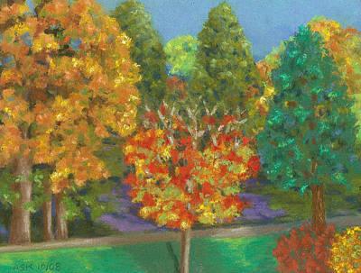 Pastel - Fall Comfort by Anne Katzeff