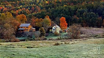 Photograph - Fall Country Side - Vt2015 by Joe Finney