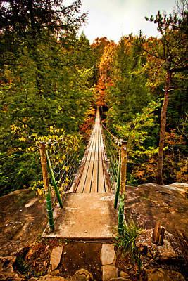 Fall Creek Falls Bridge Original by Paul Bartoszek