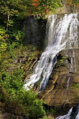 Photograph - Fall Creek Waterfall by Christina Rollo