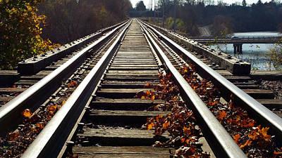 Photograph - Fall Crossings by Joel Rams