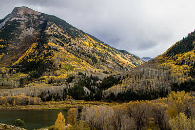 Photograph - Fall Day At Beaver Lake by Alana Thrower