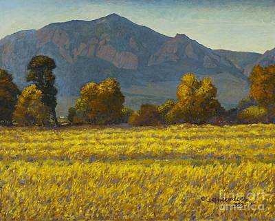 Colorado Painting - Fall Day On Dry Creek Trail by James Robert MacMillan