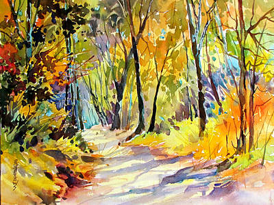 Fall Dazzle, Tennessee Art Print