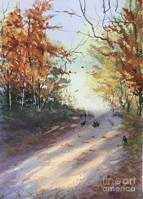 Painting - Fall Early Morning by Yohana Knobloch